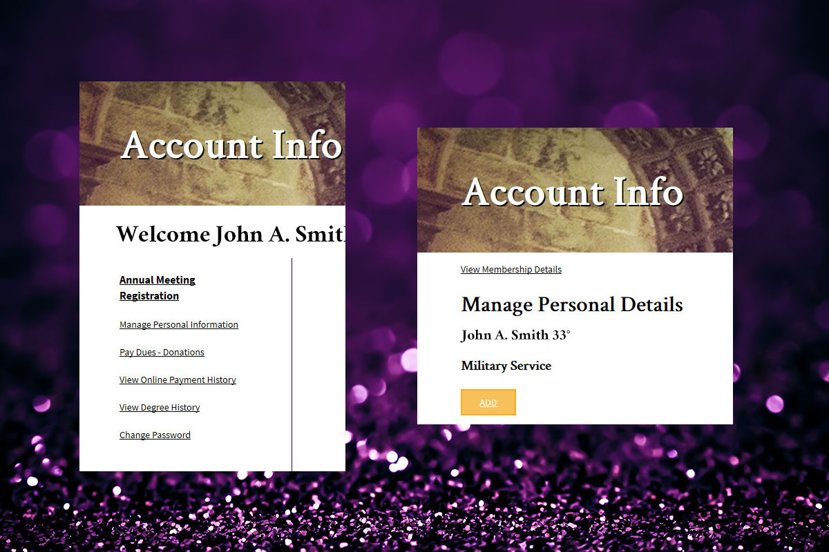 NMJ Member Center Manage Personal Information s3